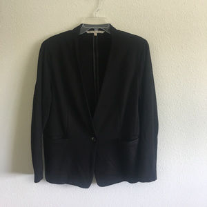 Collarless Knit Blazer - Sz 1x